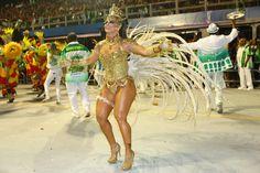 Viviane Araujo, reina de los tambores Mancha Verde
