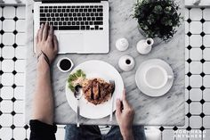 Jakarta Indonesia (Papajo Eatery @papajo.eatery)  by Aily (@ailytantono)  Use our app to find the best cafes and spaces to work from. -- Aily is refuelling her stomach at Papajo Eatery before starting work in Jakarta Indonesia. -- #workhardanywhere