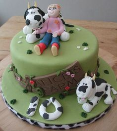 Alice's cow cake | Flickr - Photo Sharing!