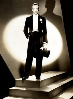 Fred Astaire. So charming and had such a zest for life. One of the true greats. *fangirl swoon*
