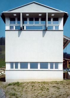 Herzog & DeMueron : House for a veterinary surgeon, Dagmersellen (1984)