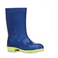 Boys' Basic Colorblock Rain Boot, Boy's, Size: 12, Blue
