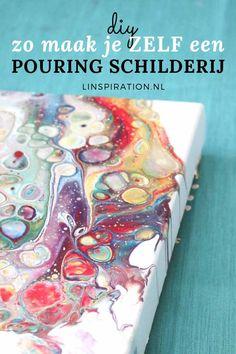 Flow Painting, Pour Painting, Diy Painting, Oil Painting Techniques, Painting Lessons, Diy Artwork, Encaustic Art, Acrylic Pouring, Paint Designs