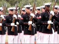 ▶ Marine corps Hymn bagpipes and band - YouTube