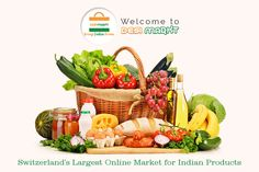 One of the best store for Indian grocery shopping online in Zurich, Switzerland.