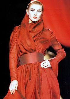 Ludmila Isaeva Malahova, Lanvin F/W 1990 Haute Couture