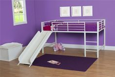 Junior Twin Low Loft Bed