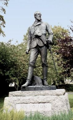 Brig. Gen. John Nicholson. He was a Giant in India- worshipped as a god by his soldiers. Killed in the Mutiny of 1857