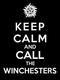 Call the Winchesters.#supernatural