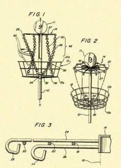 7 best disc golf blueprints images on pinterest disc golf art disc golf goal target 1988 us patent art prints020 malvernweather