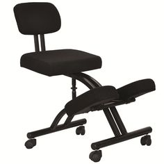 Ergonomically Designed Knee Chair with Casters and Memory Foam Office Kneeling Chair Ergonomic Adjustable Stool Office Furniture