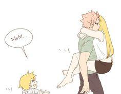 Ur mom is a little busy junior natsu!