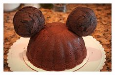 How to make a Mickey Ears Cake