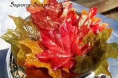 Fall Leaves Soap Petals  30 Count by SaponeSoaps on Etsy, $5.50