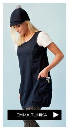 free pattern XS-XL WOMEN_Pattern_EMMA_tunic: Get Chic Fashionable Women's Tops(patterns for women's tops Dress Sewing Patterns, Sewing Patterns Free, Free Sewing, Clothing Patterns, Free Pattern, Sewing Tutorials, Diy Clothing, Sewing Clothes, Sewing Stitches