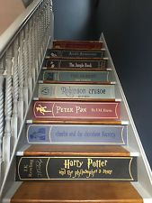Replacement Painted Book Stairs Words Risers