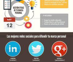 5 trucos para potenciar tu Personal Branding. #infografia #socialmedia
