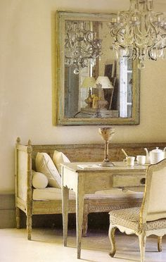 Former Parisian antiques dealer, Anne Gayet restores an old home left to a century of rack and ruin in Gers, France