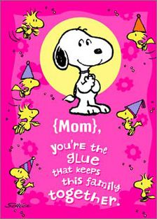 Image result for mother's day peanuts clip art