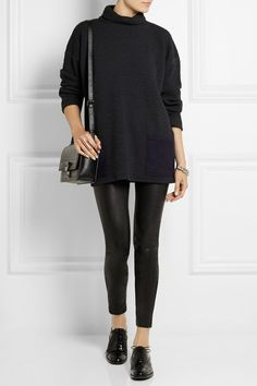 1205 | Harbour waffle-knit wool-jersey top | NET-A-PORTER.COM