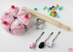 Crochet Cake free pattern