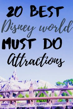 The best attractions at Disney world are these 20 top rides at Disney World. This list is sure to help you know what are the best rides in Disney World so that you can make sure to not skip the best. Best Disney Rides, Disney World Must Do, Walt Disney World Rides, All Disney Parks, Disney World Secrets, Disney World Florida, Disney World Tips And Tricks, Disney Tips, Disney World Vacation