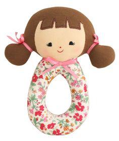 Designed in Australia by Alimrose Designs, this pretty floral rattle will keep baby entertained while exercising hand and eye co-ordination. Teams perfectly with the Alimrose Scallop Edge Bib. Baby Toys, Kids Toys, Bouquet Wrap, Birth Gift, Little Unicorn, Lil Baby, Clay Dolls, Designer Toys, Baby Boutique