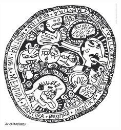 Medalhas aos Linguarudos