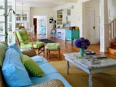 love the color splashes!