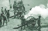 The Battle of Bull Run was the first war of the civil war. The battle took place in Fairfax county Virginia and was very hectic due to the lack of military training. Confederate forces were victorious in this battle.