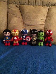 Ravelry: Spider-Man the Superhero pattern by Melissa Pembrook