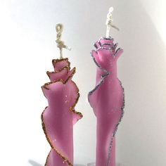 "Cinnamon /& Clove 7/"" stick candles hang on a hook or place in a candle holder"