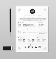27 Beautiful Résumé Designs You'll Want To Steal Lebenslauf Resume Tips, Resume Examples, Resume Ideas, Cv Ideas, Resume Cv, Ideas Para, Portfolio Resume, Portfolio Design, Template Portfolio