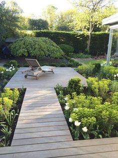Lucy Willcox Partially Registered Putney Heath is part of Patio garden design - Back Gardens, Small Gardens, Outdoor Gardens, Terrace Garden, Garden Paths, Design Jardin, Front Yard Landscaping, Landscaping Ideas, Walkway Ideas