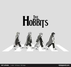 Hobbit Road  Ript Apparel T-Shirt 11 Jan 2013