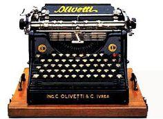 macchina per scrivere Olivetti M1, 1911