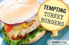 7 Good-for-You Turkey Burger #Recipes | via @SparkPeople