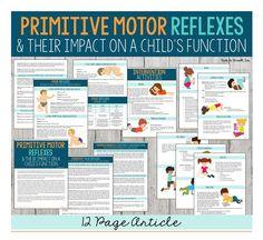 Primitive Reflex Article