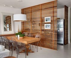 claustra bois interieur 634x522 12 Ideas How To Use Wooden Screens For Indoor And Outdoor