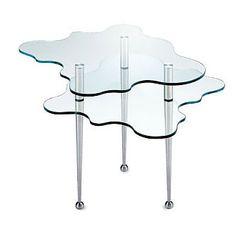Alessandro Mendini:  Papilio Coffee Table. Io lo uso come comodino perché el sta minga in pè. Gambe nere, però. Viene da Bologna.