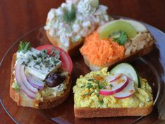 Duran European Sandwiches - The art of the open faced sandwich!