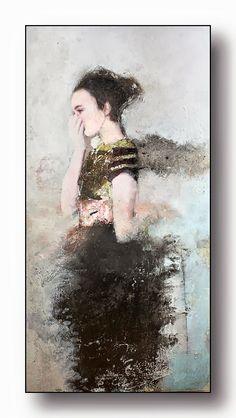 Veronique Paquereau - Contemporary Artist - Figurative Painting - Poetic Atmosphere - 2014