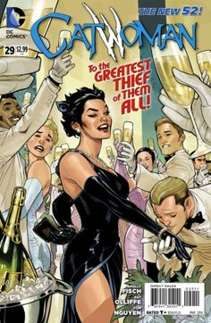 The New 52 Catwoman by Terry & Rachel Dodson