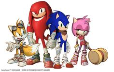 Sonic Boom Behind the Scenes Video Released -  It's not often that we get a look at how Sonic games are made, so it's surprising that SEGA suddenly released a behind the scenes video for Sonic Boom. While there's not much new info, it does show a lot of new concept art for the game and a couple of voice recording sessions... http://www.sonicretro.org/2014/02/sonic-boom-behind-the-scenes-video-released/