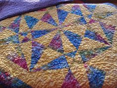 sunny canoes baby quilt | Flickr - Photo Sharing! mollybquilts.blogspot.com