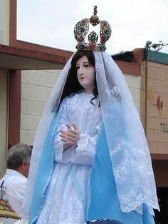 Virgen Inmaculada, Lico, Manuel Rodríguez. Iglesia distrito de Concepción, san Ramón, Alajuela, Costa Rica