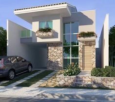 Our Top 10 Modern house designs – Modern Home House Design, House, Modern House, House Exterior, Building A House, House Styles, Two Story House Design, Exterior Design, House Designs Exterior
