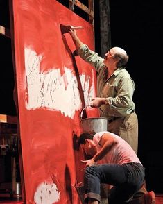 From the play RED about Mark Rothko