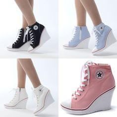 6945676fa06281 Flats Heels Wedge Platform Trainers High Sneakers Boots Ankles Lace Zip  Motive  Unbranded  LaceUps  Casual