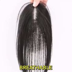 Hair Beauty - 😍Blend seamlessly into your natural hair Perfect solution to conceal thin hair, gray hair, hair loss. Hair And Makeup Tips, Hair Makeup, Curly Hair Styles, Natural Hair Styles, Hair Toppers, Magic Hair, Grunge Hair, Wig Hairstyles, Ladies Hairstyles